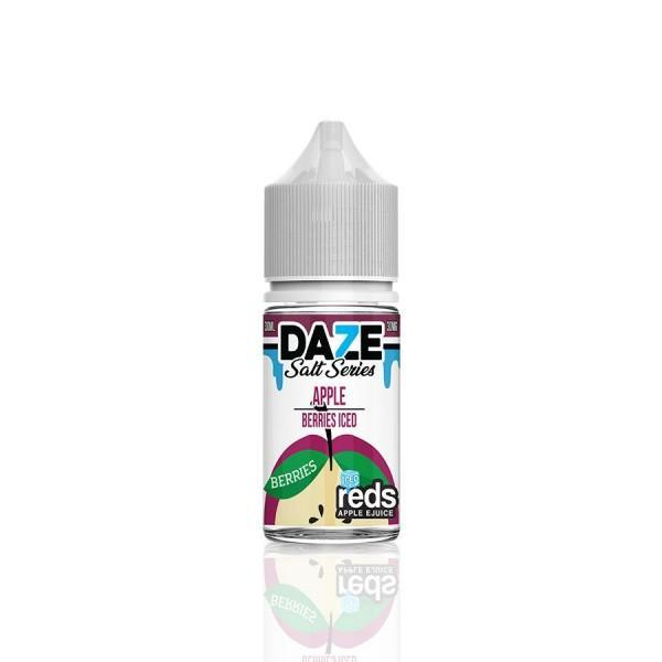 BERRIES ICED REDS APPLE GRAPE - 7 DAZE SALT - 30ML - Ohm City Vapes