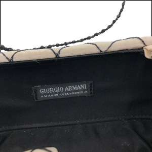 Armani 90s Spider Evening Purse LABEL 5 of 5