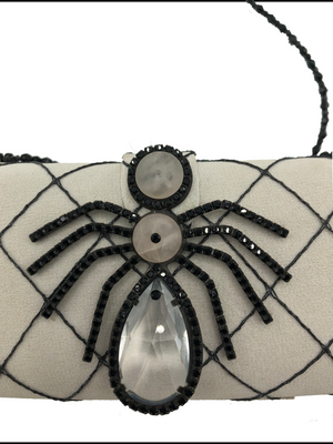 Armani 90s Spider Evening Purse DETAIL 4 of 5