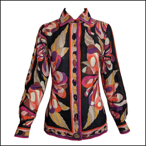 Pucci 70s Cotton Print Shirt 1 of 5