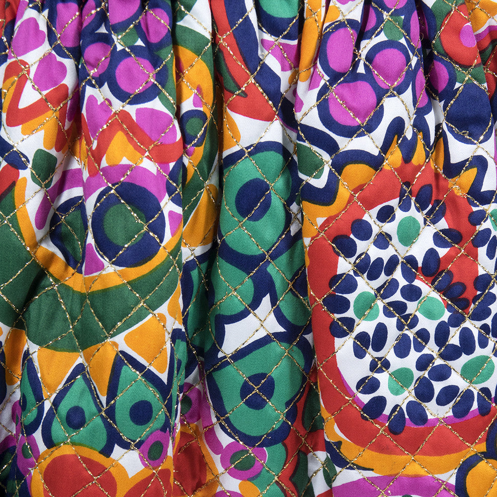 Beene 70s Floral Afternoon Dress Detail 4 of 5