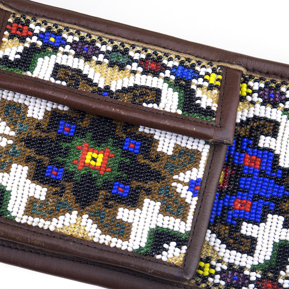 Ethnic Beaded Belt, detail