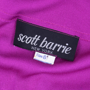 Vintage SCOTT BARRIE 70s Jumpsuit Ensemble, label