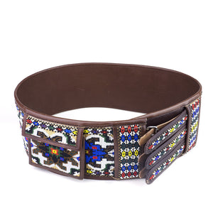 Ethnic Beaded Belt