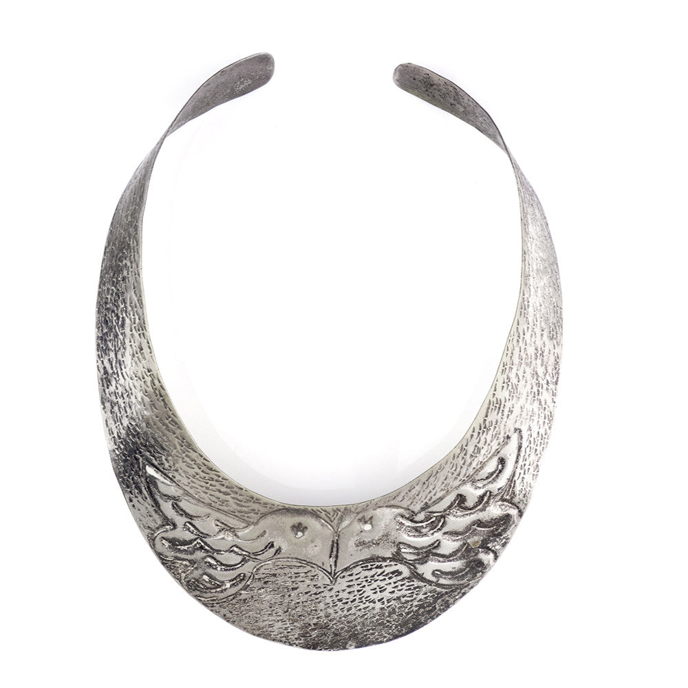 Vintage 70s Bird Collar Necklace