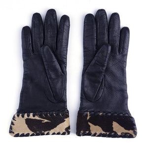 Vintage BOTTEGA VENETA 90s Leather Gloves