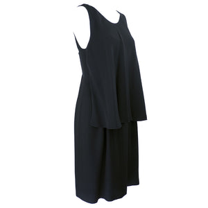 Vintage CHANEL Black Mini Dress, side