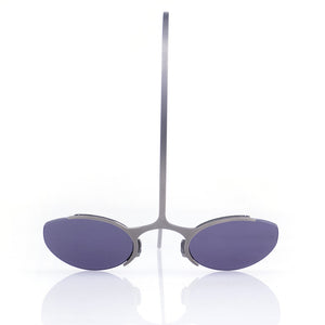 Vintage 90s Over-the-Head Sunglasses, front