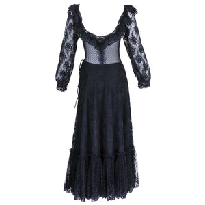 Vintage SANT'ANGELO 70s Lace Ensemble, back