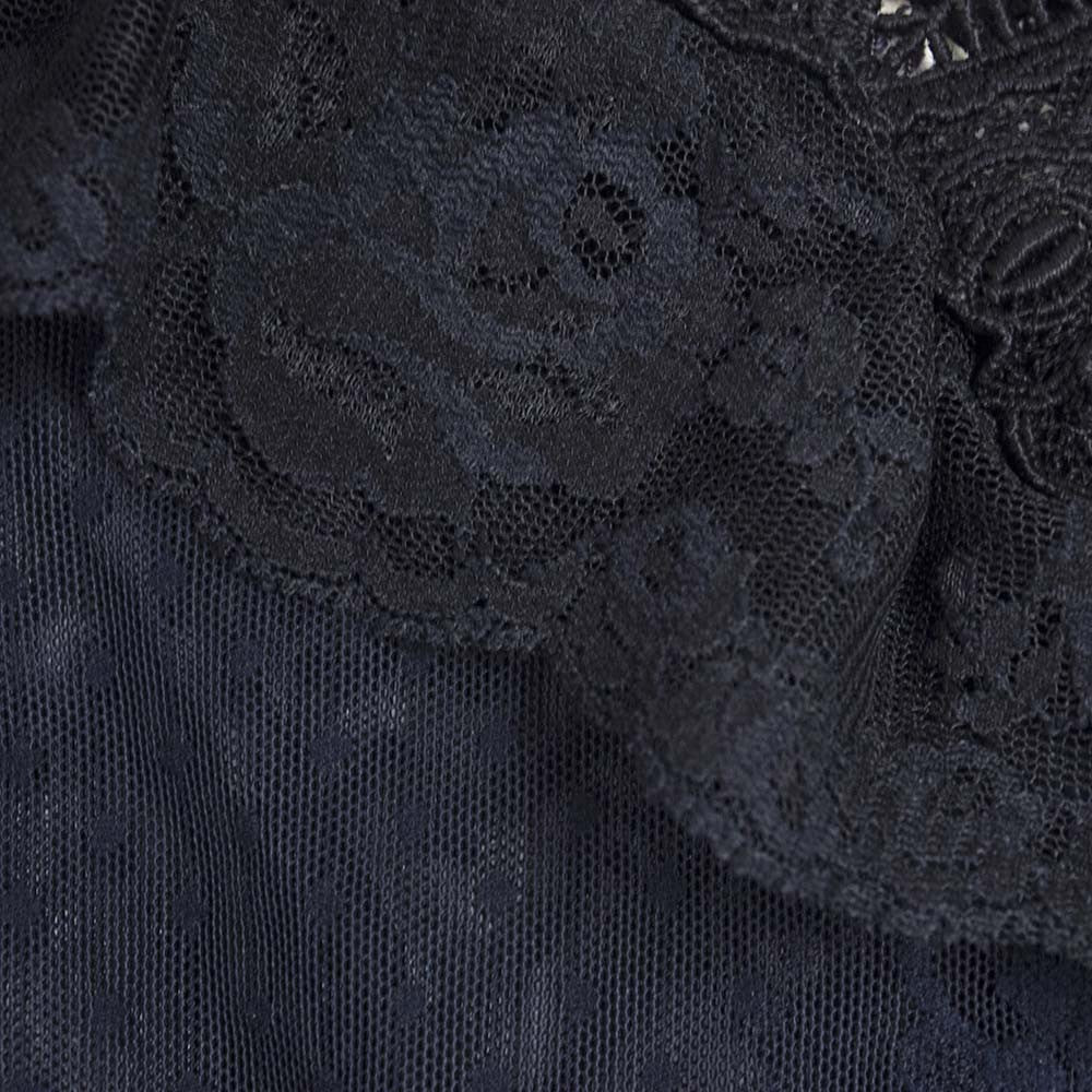 Vintage SANT'ANGELO 70s Lace Ensemble, detail