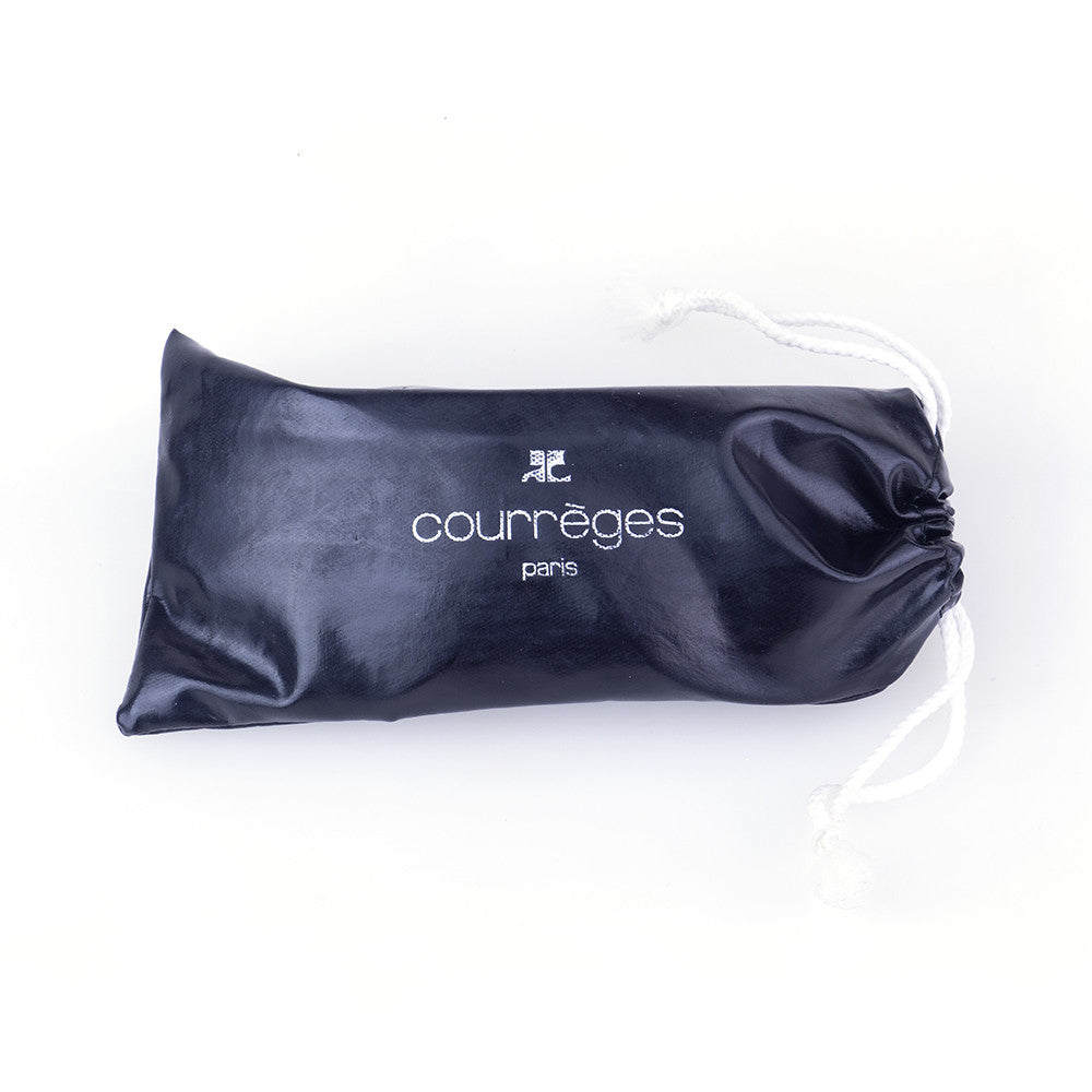 COURREGES Mod-Style Sunglasses, case