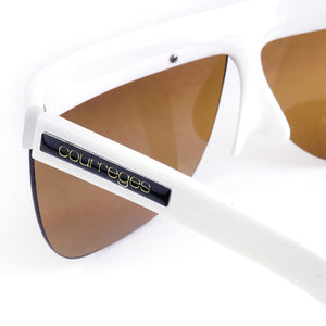 COURREGES Mod-Style Sunglasses, arms