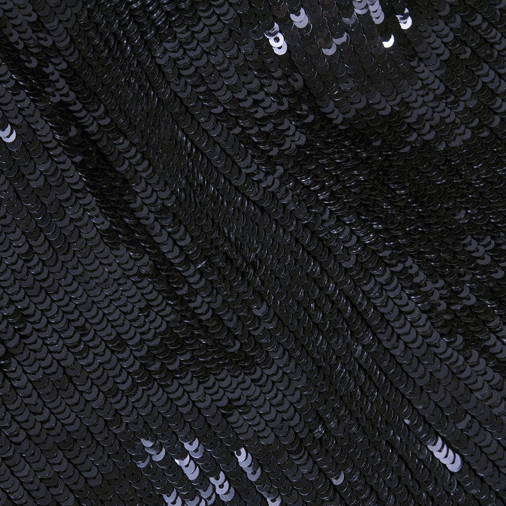 RALPH RUCCI Black Sequin Cocktail Dress, detail 3