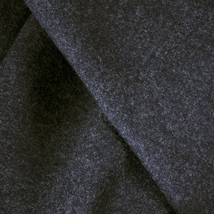 Vintage STAVROPOULOS 70s Grey Wool Gown, detail 3