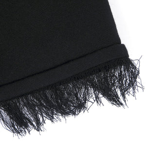 CHADO RALPH RUCCI Black Cashmere & Sequin Dress, detail 2