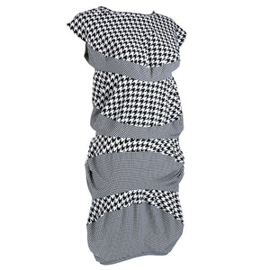 COMME DES GARCONS Avant-Garde Houndstooth Dress