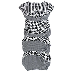 COMME DES GARCONS Avant-Garde Houndstooth Dress, front