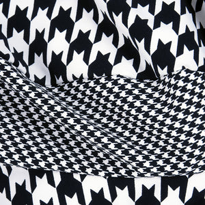 COMME DES GARCONS Avant-Garde Houndstooth Dress, detail 1