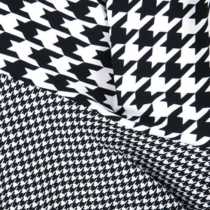 COMME DES GARCONS Avant-Garde Houndstooth Dress, detail 2