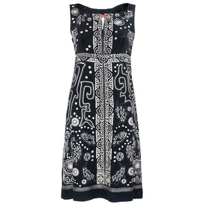 LACROIX Black Embroidered Dress