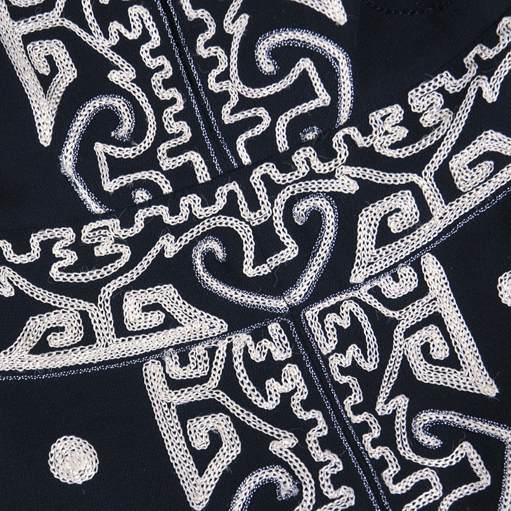 LACROIX Black Embroidered Dress, detail 3