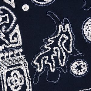 LACROIX Black Embroidered Dress, detail 2
