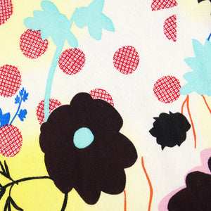 Vintage GALLIANO 90s Graphic Floral-Print Ensemble, detail 4