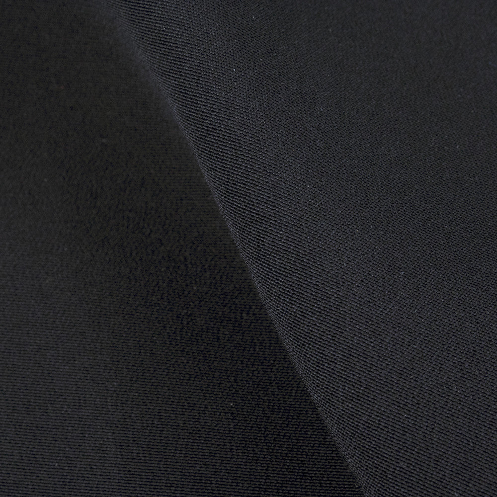 Vintage CARDIN 80s Memphis-Detail Black Silk Cocktail Dress, detail 2