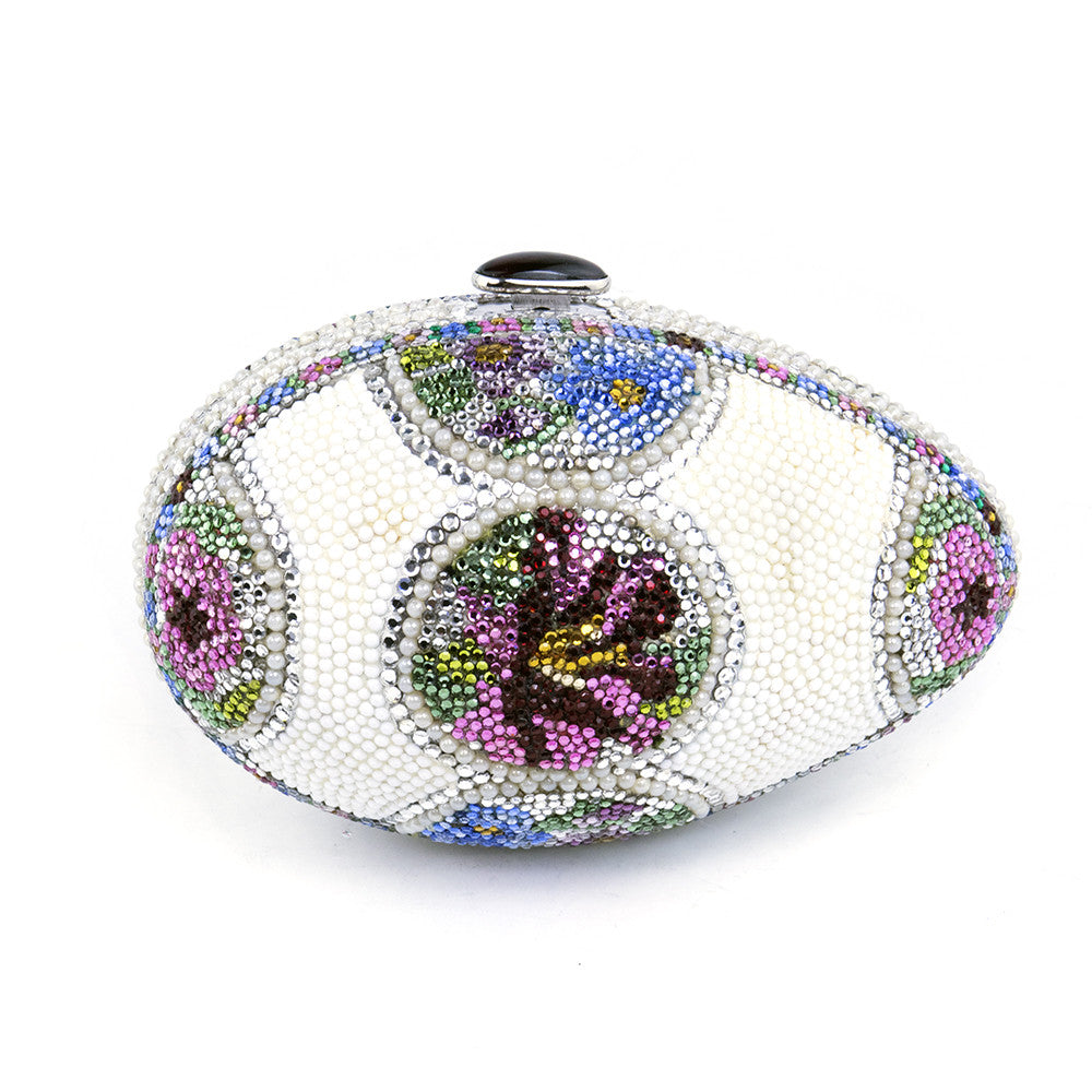 LEIBER Faberge Egg-Style Evening Bag Minaudiere