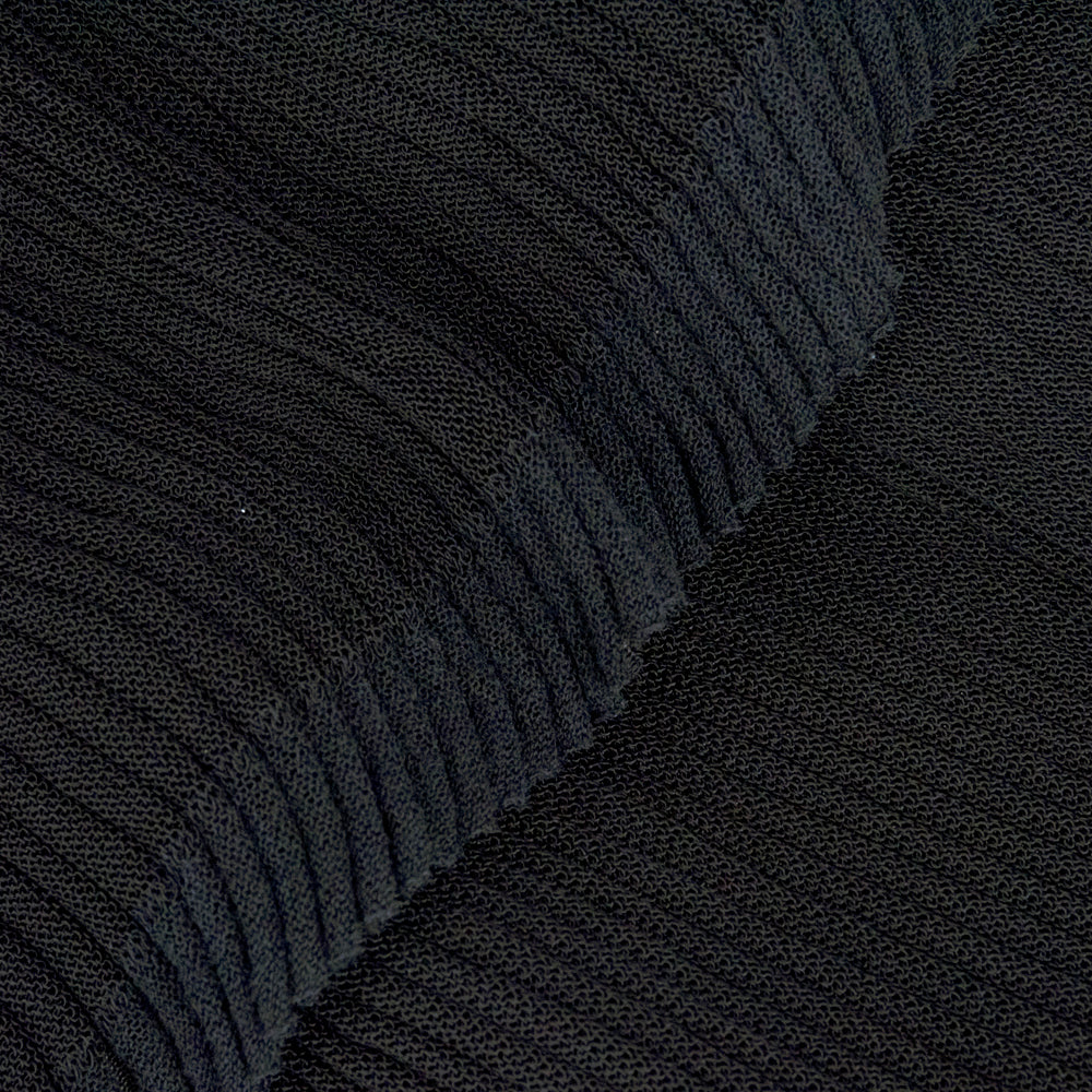 CHANEL Black Sheer Micro-Pleated Cocktail Dress, detail 2