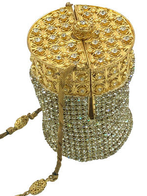 Walborg 60s Rhinestone Evening Pouch  Side 1 of 6