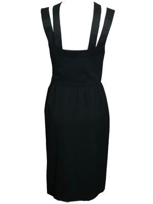 Givenchy Tuxedo Style Cocktail Dress BACK 3 of 5