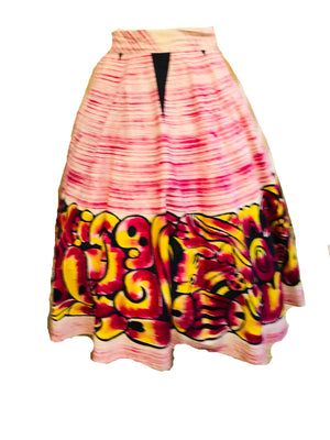Creaciones Maya 50s Mexican Circle Skirt FRONT 1 of 4