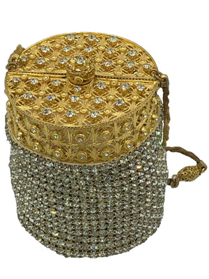 Walborg 60s Rhinestone Evening Pouch  FRONT 2 of 6