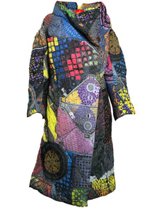 Vivienne Westwood Quilted Print Coat FRONT 1 of 6