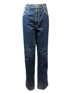 70s Jordache Deadstock Denim Blue Front 1 of 4
