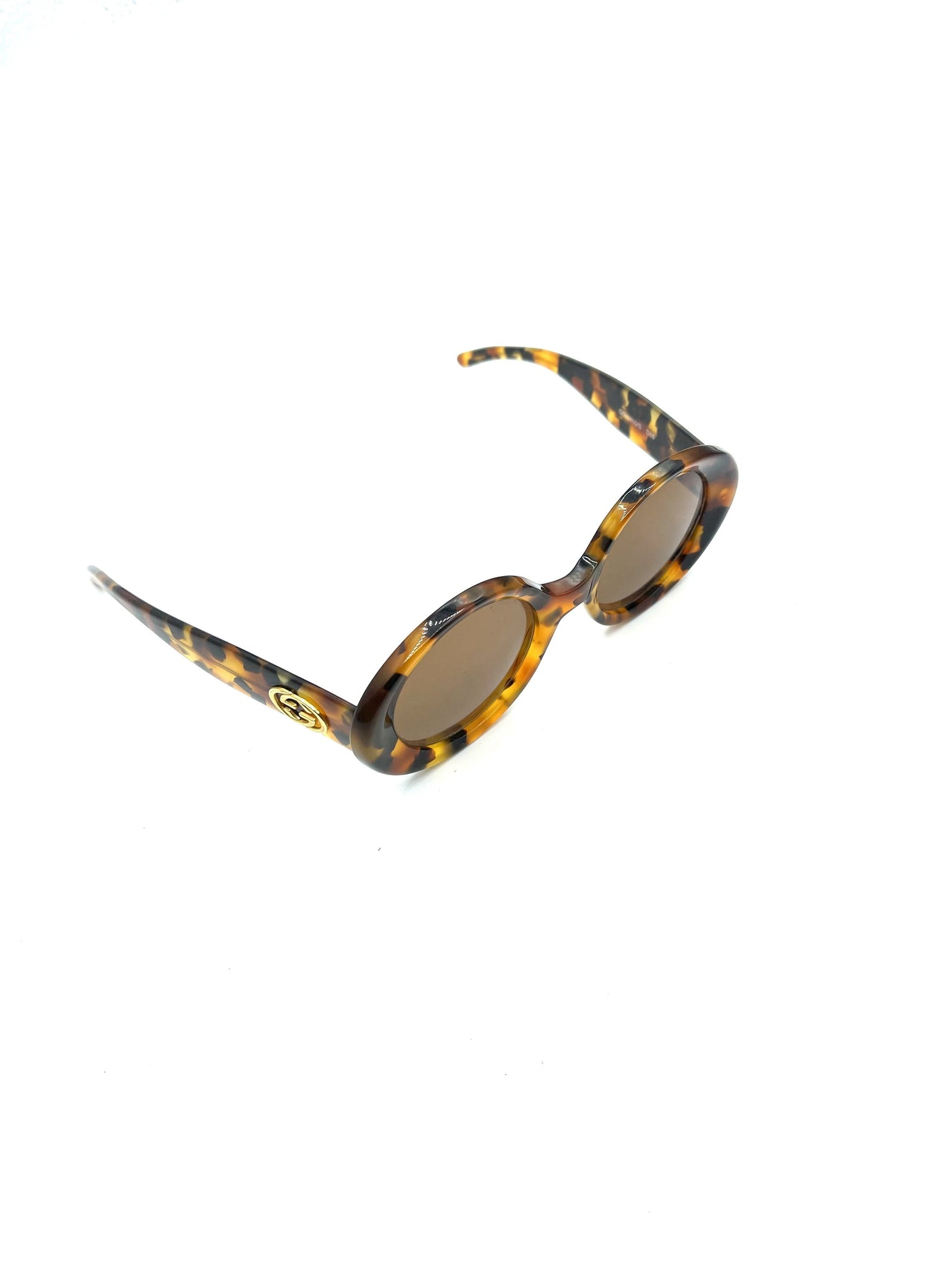 Gucci 90s Tortoiseshell Sunglasses SIDE 2 of 6