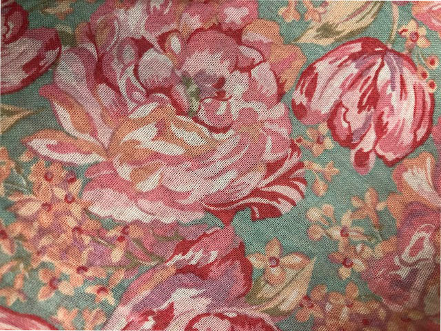 80s Laura Ashley Ditzy Floral Sun Dress Detail B 4 of 5