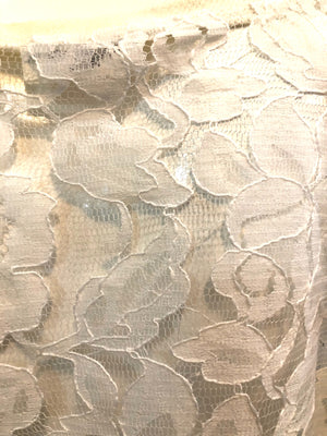 Patrick Kelly 90s White Lace Trapeze Top  DETAIL 5 of 6