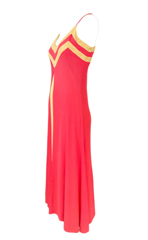 1970s The Best Ever Loris Azzaro Disco Dress Side 2 of 4