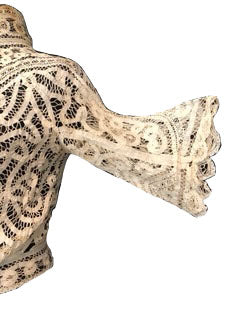 Edwardian Battenburg Lace Blouse Detail B 4 of 4