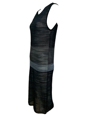 Krizia 90s Sheer Lightweight Knit Dress SIDE 2 of 4