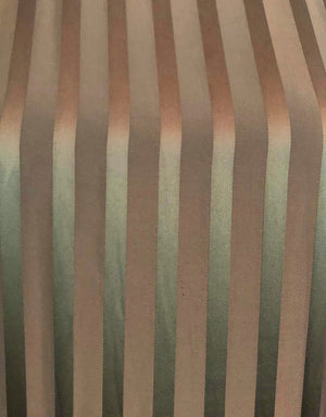 Jean Paul Gaultier 2000s Brown Silk Striped Maxi 2 of 5