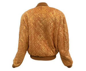 Begedor metallic bomber back #2