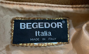 Begedor quilted metallic bomber label #4