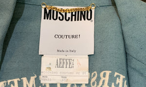 "Moschino COUTURE 90s ""Understatement"" Blazer Label 4 of 4"