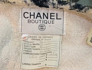 Rare Chanel Terry Cloth  Robe with Iconic Print Label 5 of 5