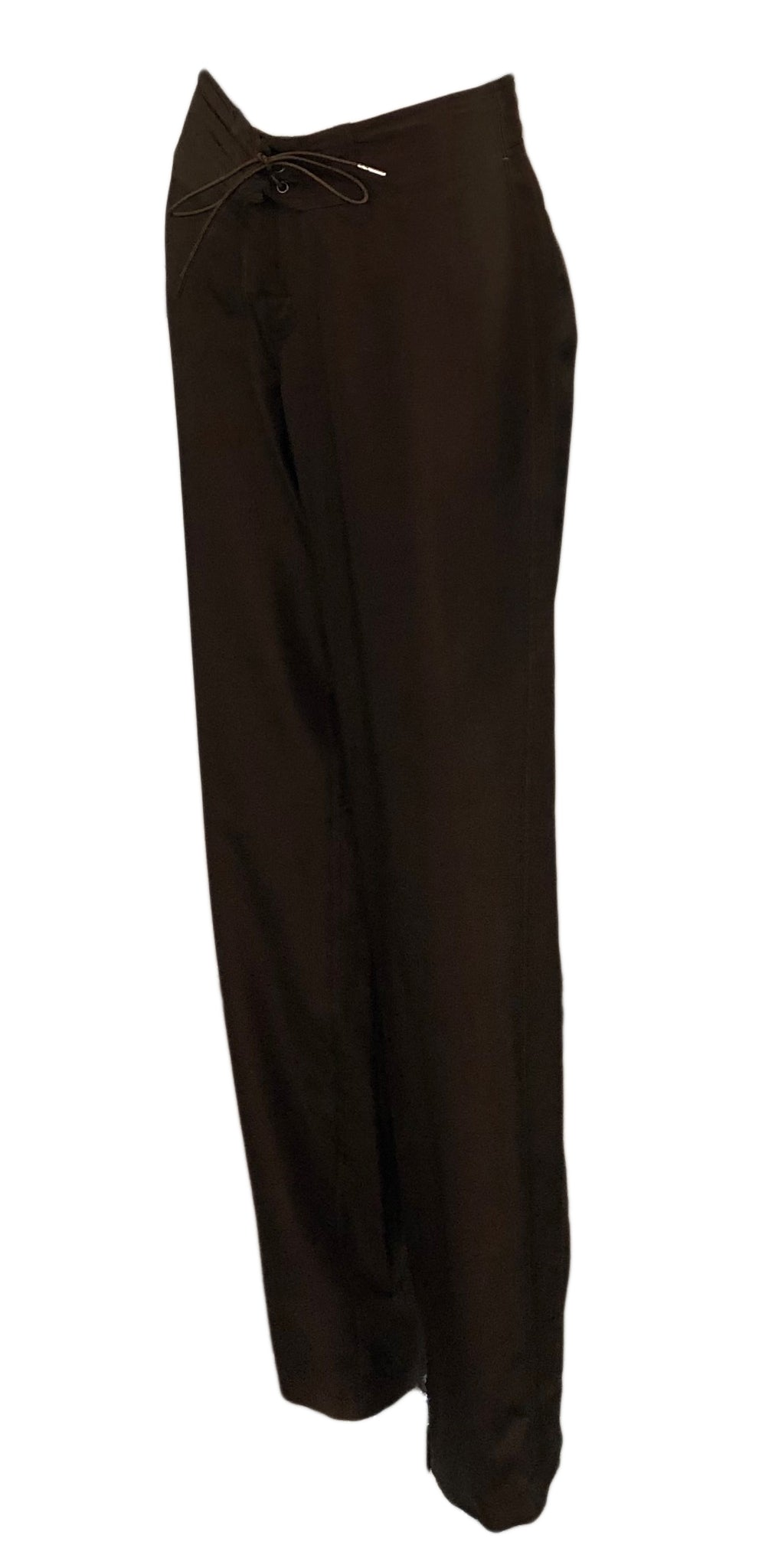 Tom Ford for Gucci Brown Drawstring Pants