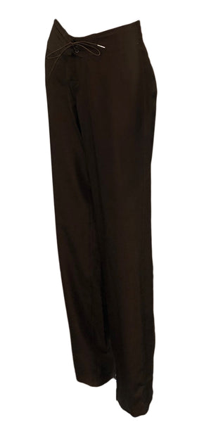 Tom Ford for Gucci Brown Drawstring Pants, side