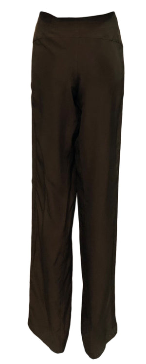 Tom Ford for Gucci Brown Drawstring Pants, back